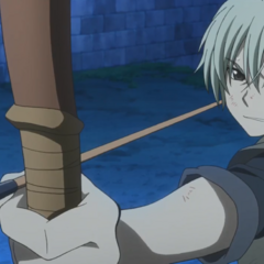 Atori preparing to shoot Zen.
