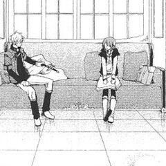 Zen takes a break with Shirayuki.
