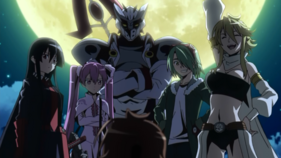 The Night Raid Members