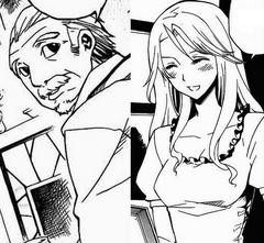 Padres de Aria manga