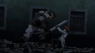Ogre fights Tatsumi