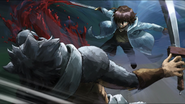 Tatsumi Killing a Wolf-Masked Assassin
