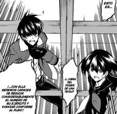 Wave y Kurome sorprendidos por la ayuda
