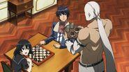 Bols gives tea to Wave and Kurome