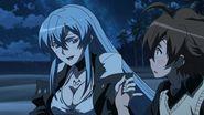 Esdeath and Tatsumi alone on the island (4)