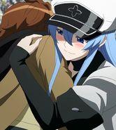 Esdeath Holds Tatsumi