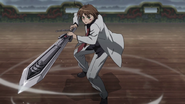 Tatsumi Wields Incursio's Sword