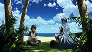 Esdeath and Tatsumi rest