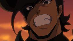 Bulat animando a Tatsumi