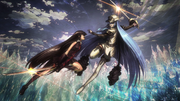 Akame clashes with Esdeath Anime Exclusive