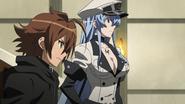 Esdeath has Tatsumi
