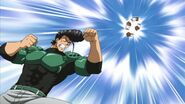 Bulat angrily punches Tatsumi