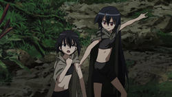 Akame & Kurome surviving