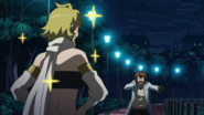 "Tatsumi's reaction to Leone ""marking"" him"
