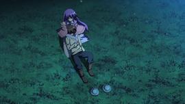 Sheele comforts Tatsumi