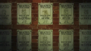 Night Raid Wanted Posters