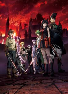 Akame Ga Kill! anime artwork