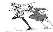 Martha attacks Akame
