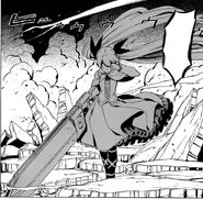 Mine crashes Tatsumi's execution