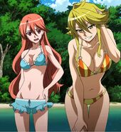 Leone and Chelsea swimsuits