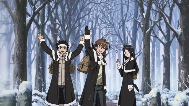 Berkas:Tatsumi, Ieyasu, Sayo leaving their village.png
