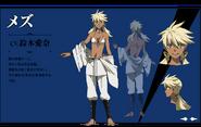 Mez's Anime Design