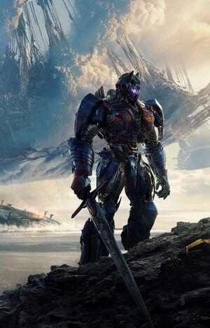Optimus The Last Knight
