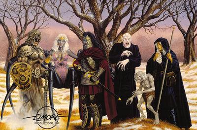 Villains of Fantasy - Larry Elmore
