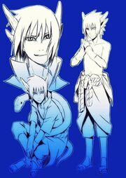 Uchiha sasuke modo sabio dragon by jun gaara-d5xzzyr