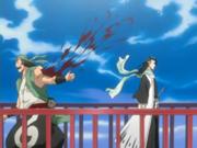Nakeshi herido