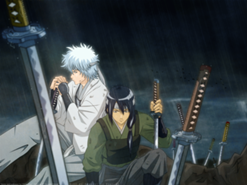 Utaroz y Kento durante una batalla