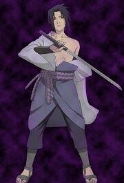 Naruto Shippuden Sasuke Uchiha costume ver 02-6-03