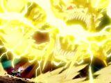 Jutsu Secreto Elemento Rayo:Embestida del Dios Dragón Relampagueante