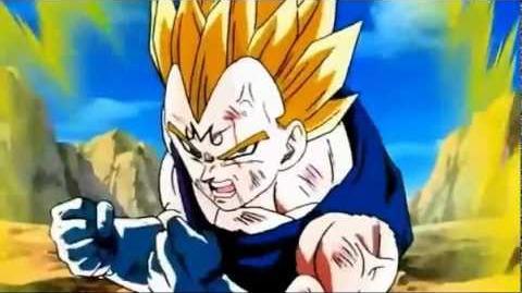 Goku vs majin vegeta (audio latino) parte 4