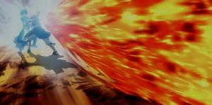 Arte Ninja del Dragón de Fuego Codo