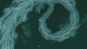 Elemento Agua Corriente Dragón de Agua