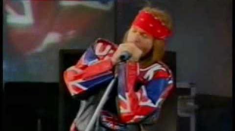 Guns N Roses Paradise City