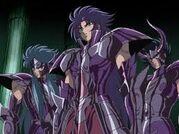 Saga,Kanon y Shura