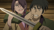 Yu-Ri is captured by a guard