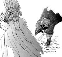 Hiyou intenta matar a Yona