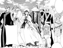 El dragón negro y el feliz grupo de hambrientos