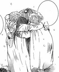 Zeno Abi Shu-Ten y Gu-En abrazo