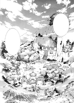 Aldea del Hakuryuu manga