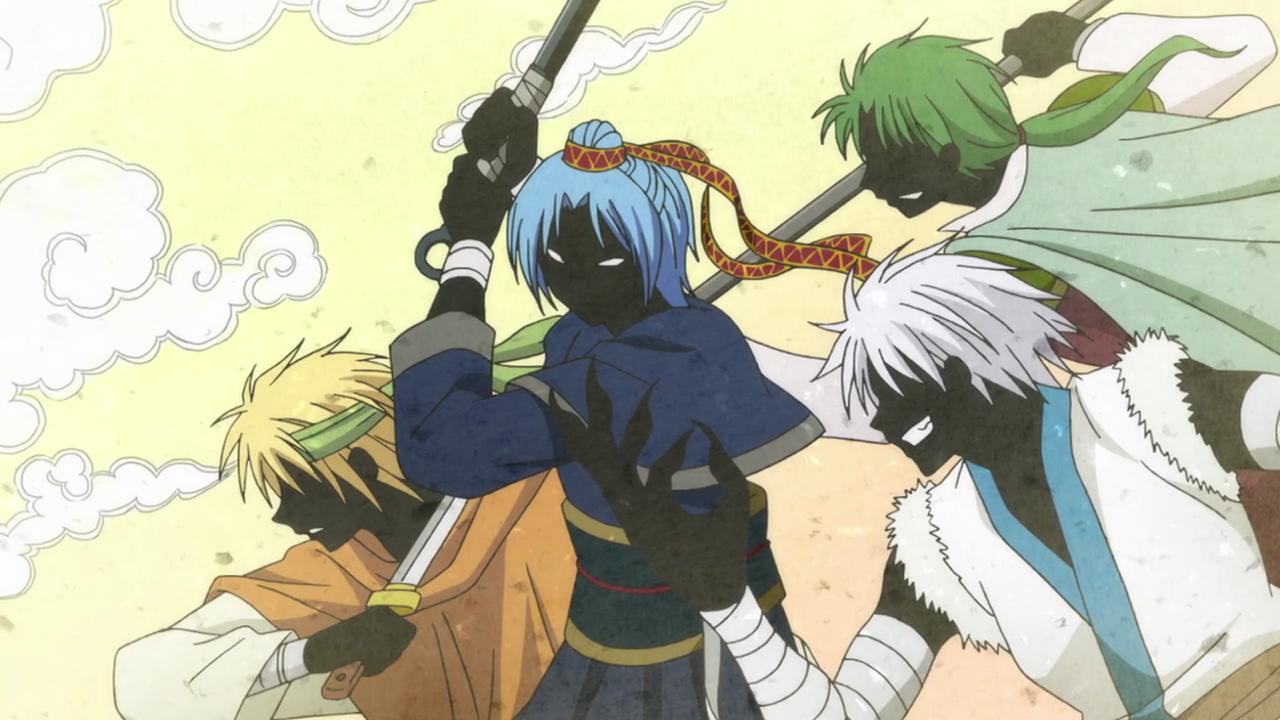 Dragon Warriors | Akatsuki No Yona Wiki | FANDOM powered by