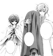 Yona le dice a Kija que algún día quiere proteger a Hak