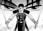 Han Joo-Doh habilidad con espadas