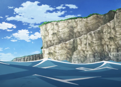 Cabo nublado en anime