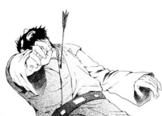 Kum-Ji muere al recibir una flecha