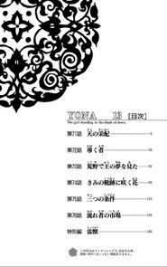 Volumen 13 índice
