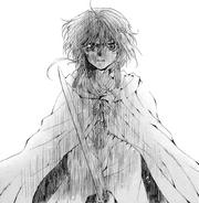 Yona con una espada